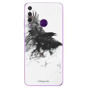 Odolné silikonové pouzdro iSaprio - Dark Bird 01 na mobil Huawei Y6p