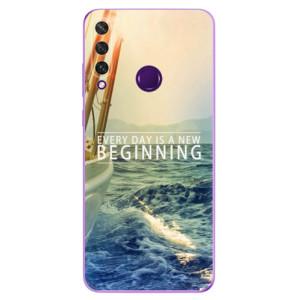 Odolné silikonové pouzdro iSaprio - Beginning na mobil Huawei Y6p