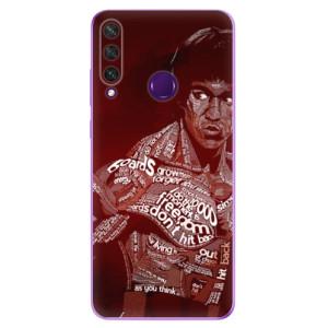 Odolné silikonové pouzdro iSaprio - Bruce Lee na mobil Huawei Y6p