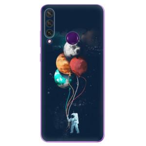 Odolné silikonové pouzdro iSaprio - Balloons 02 na mobil Huawei Y6p