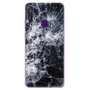 Odolné silikonové pouzdro iSaprio - Cracked na mobil Huawei Y6p