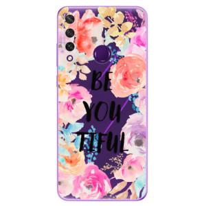 Odolné silikonové pouzdro iSaprio - BeYouTiful na mobil Huawei Y6p