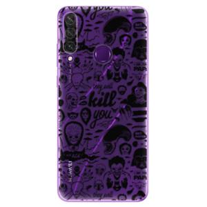 Odolné silikonové pouzdro iSaprio - Comics 01 - black na mobil Huawei Y6p