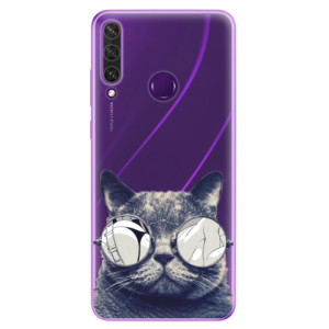 Odolné silikonové pouzdro iSaprio - Crazy Cat 01 na mobil Huawei Y6p