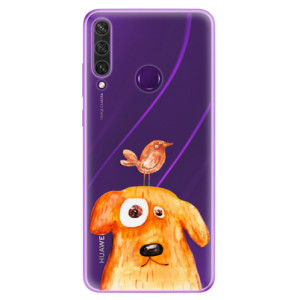 Odolné silikonové pouzdro iSaprio - Dog And Bird na mobil Huawei Y6p