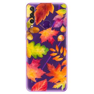 Odolné silikonové pouzdro iSaprio - Autumn Leaves 01 na mobil Huawei Y6p