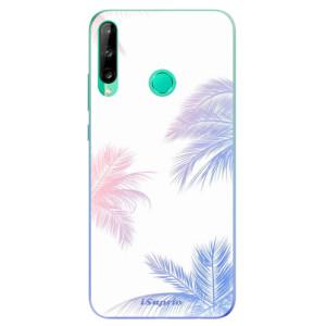 Odolné silikonové pouzdro iSaprio - Digital Palms 10 na mobil Huawei P40 Lite E