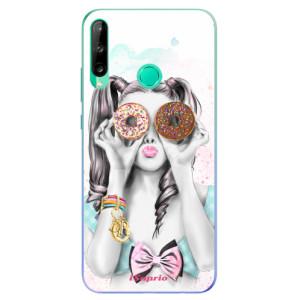 Odolné silikonové pouzdro iSaprio - Donuts 10 na mobil Huawei P40 Lite E