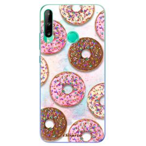 Odolné silikonové pouzdro iSaprio - Donuts 11 na mobil Huawei P40 Lite E