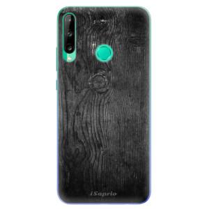 Odolné silikonové pouzdro iSaprio - Black Wood 13 na mobil Huawei P40 Lite E