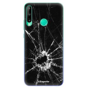 Odolné silikonové pouzdro iSaprio - Broken Glass 10 na mobil Huawei P40 Lite E