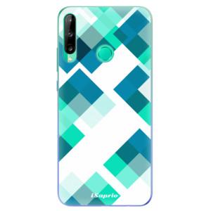 Odolné silikonové pouzdro iSaprio - Abstract Squares 11 na mobil Huawei P40 Lite E