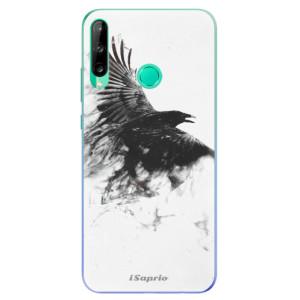 Odolné silikonové pouzdro iSaprio - Dark Bird 01 na mobil Huawei P40 Lite E