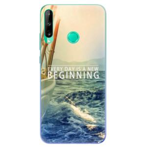 Odolné silikonové pouzdro iSaprio - Beginning na mobil Huawei P40 Lite E