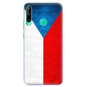 Odolné silikonové pouzdro iSaprio - Czech Flag na mobil Huawei P40 Lite E