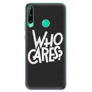 Odolné silikonové pouzdro iSaprio - Who Cares na mobil Huawei P40 Lite E