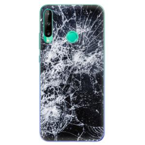 Odolné silikonové pouzdro iSaprio - Cracked na mobil Huawei P40 Lite E