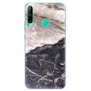 Odolné silikonové pouzdro iSaprio - BW Marble na mobil Huawei P40 Lite E