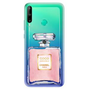 Odolné silikonové pouzdro iSaprio - Chanel Rose na mobil Huawei P40 Lite E