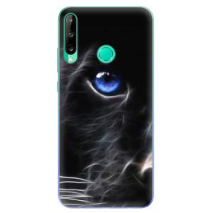 Odolné silikonové pouzdro iSaprio - Black Puma na mobil Huawei P40 Lite E