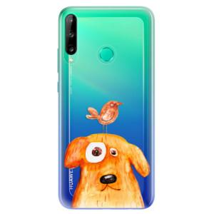 Odolné silikonové pouzdro iSaprio - Dog And Bird na mobil Huawei P40 Lite E