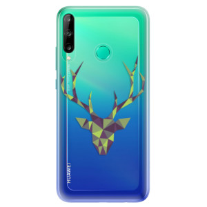Odolné silikonové pouzdro iSaprio - Deer Green na mobil Huawei P40 Lite E
