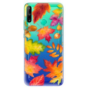 Odolné silikonové pouzdro iSaprio - Autumn Leaves 01 na mobil Huawei P40 Lite E