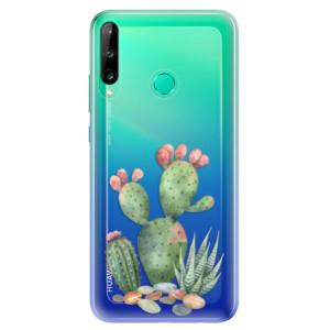 Odolné silikonové pouzdro iSaprio - Cacti 01 na mobil Huawei P40 Lite E