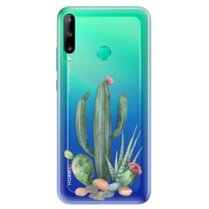 Odolné silikonové pouzdro iSaprio - Cacti 02 na mobil Huawei P40 Lite E