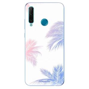 Odolné silikonové pouzdro iSaprio - Digital Palms 10 na mobil Honor 20e / Honor 20 Lite