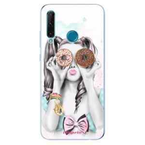 Odolné silikonové pouzdro iSaprio - Donuts 10 na mobil Honor 20e / Honor 20 Lite