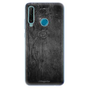 Odolné silikonové pouzdro iSaprio - Black Wood 13 na mobil Honor 20e / Honor 20 Lite