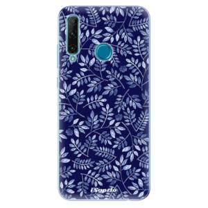 Odolné silikonové pouzdro iSaprio - Blue Leaves 05 na mobil Honor 20e / Honor 20 Lite