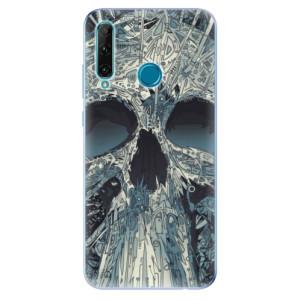 Odolné silikonové pouzdro iSaprio - Abstract Skull na mobil Honor 20e / Honor 20 Lite