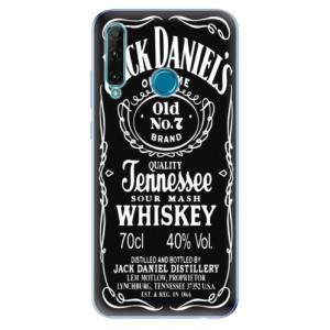 Odolné silikonové pouzdro iSaprio - Jack Daniels na mobil Honor 20e / Honor 20 Lite - výprodej