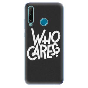 Odolné silikonové pouzdro iSaprio - Who Cares na mobil Honor 20e / Honor 20 Lite
