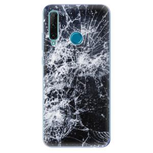 Odolné silikonové pouzdro iSaprio - Cracked na mobil Honor 20e / Honor 20 Lite