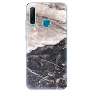 Odolné silikonové pouzdro iSaprio - BW Marble na mobil Honor 20e / Honor 20 Lite