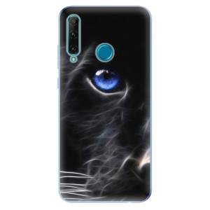 Odolné silikonové pouzdro iSaprio - Black Puma na mobil Honor 20e / Honor 20 Lite