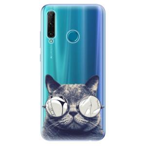 Odolné silikonové pouzdro iSaprio - Crazy Cat 01 na mobil Honor 20e / Honor 20 Lite
