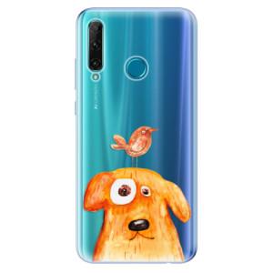 Odolné silikonové pouzdro iSaprio - Dog And Bird na mobil Honor 20e / Honor 20 Lite