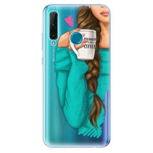 Odolné silikonové pouzdro iSaprio - My Coffe and Brunette Girl na mobil Honor 20e / Honor 20 Lite