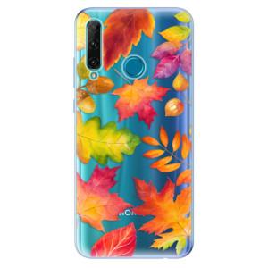 Odolné silikonové pouzdro iSaprio - Autumn Leaves 01 na mobil Honor 20e / Honor 20 Lite