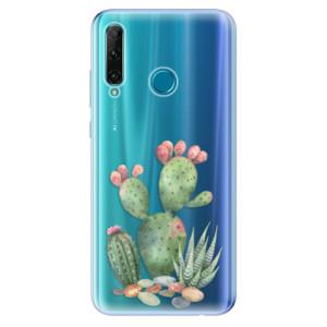 Odolné silikonové pouzdro iSaprio - Cacti 01 na mobil Honor 20e / Honor 20 Lite