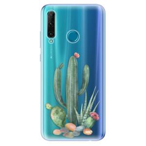 Odolné silikonové pouzdro iSaprio - Cacti 02 na mobil Honor 20e / Honor 20 Lite