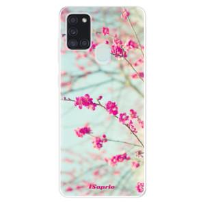 Odolné silikonové pouzdro iSaprio - Blossom 01 na mobil Samsung Galaxy A21s