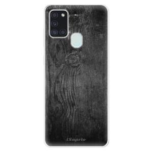 Odolné silikonové pouzdro iSaprio - Black Wood 13 na mobil Samsung Galaxy A21s