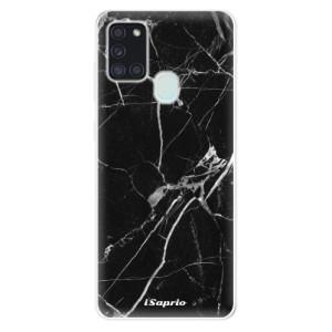 Odolné silikonové pouzdro iSaprio - Black Marble 18 na mobil Samsung Galaxy A21s