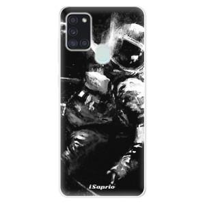 Odolné silikonové pouzdro iSaprio - Astronaut 02 na mobil Samsung Galaxy A21s