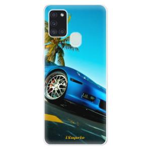 Odolné silikonové pouzdro iSaprio - Car 10 na mobil Samsung Galaxy A21s